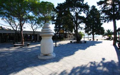 trg v Portorožu/square in Portorož